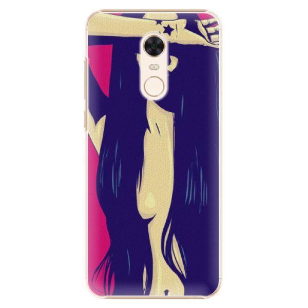 Plastové pouzdro iSaprio - Cartoon Girl - Xiaomi Redmi 5 Plus