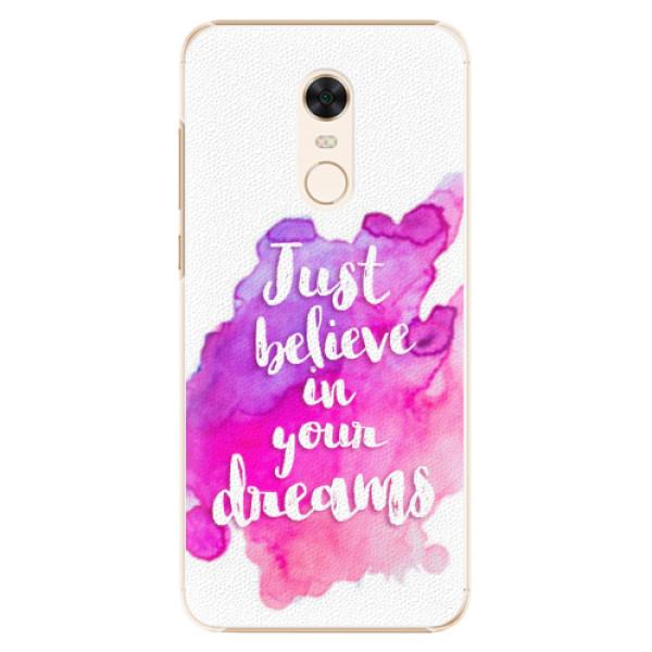 Plastové pouzdro iSaprio - Believe - Xiaomi Redmi 5 Plus