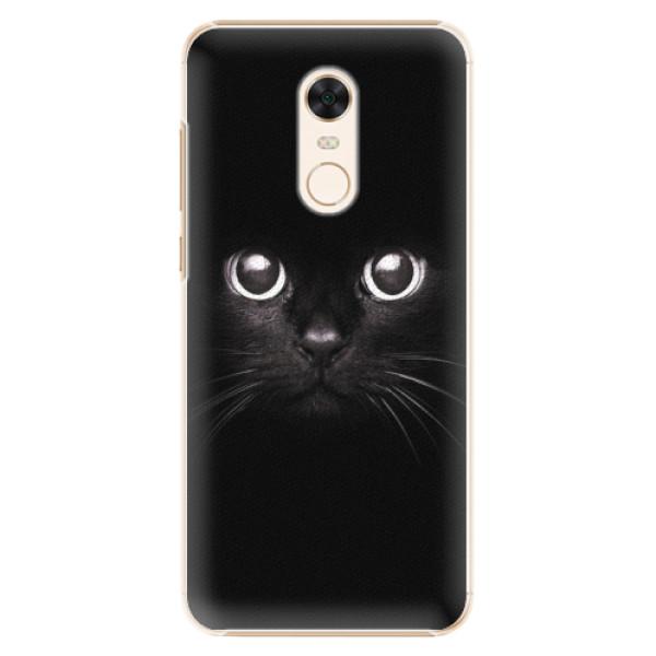 Plastové pouzdro iSaprio - Black Cat - Xiaomi Redmi 5 Plus