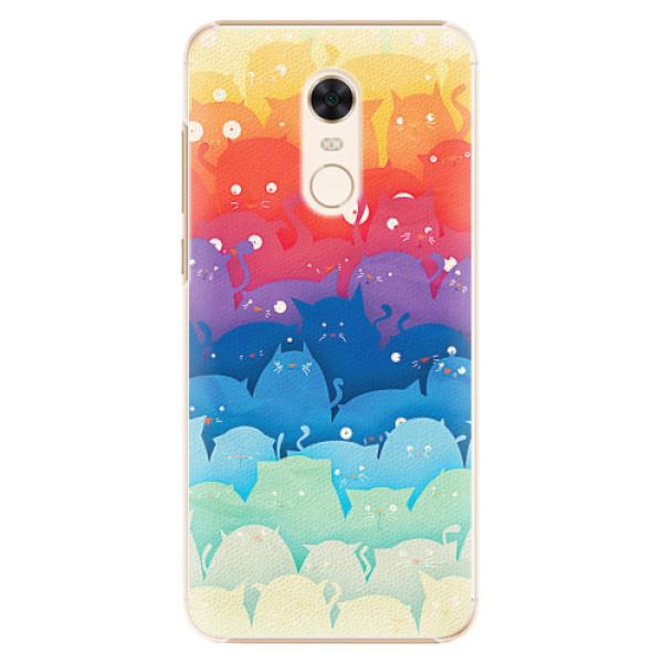 Plastové pouzdro iSaprio - Cats World - Xiaomi Redmi 5 Plus