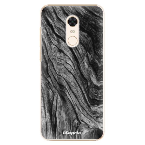 Plastové pouzdro iSaprio - Burned Wood - Xiaomi Redmi 5 Plus