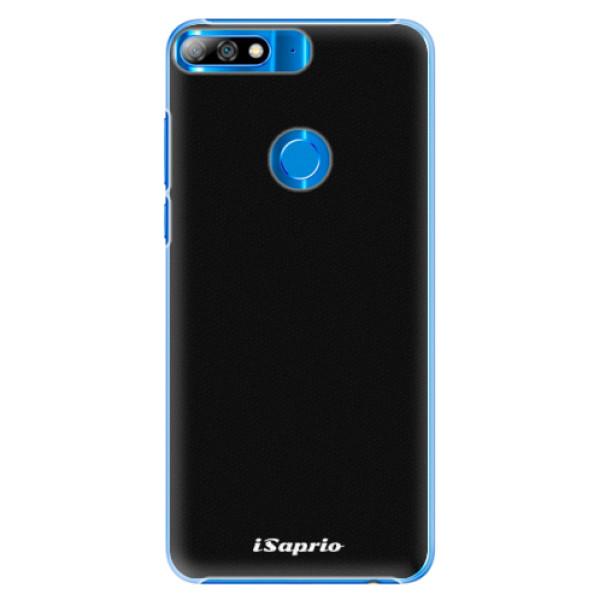Plastové pouzdro iSaprio - 4Pure - černý - Huawei Y7 Prime 2018