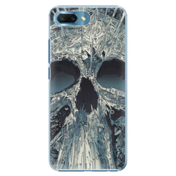 Plastové pouzdro iSaprio - Abstract Skull - Huawei Honor 10