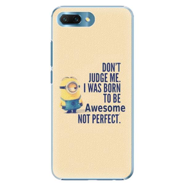 Plastové pouzdro iSaprio - Be Awesome - Huawei Honor 10