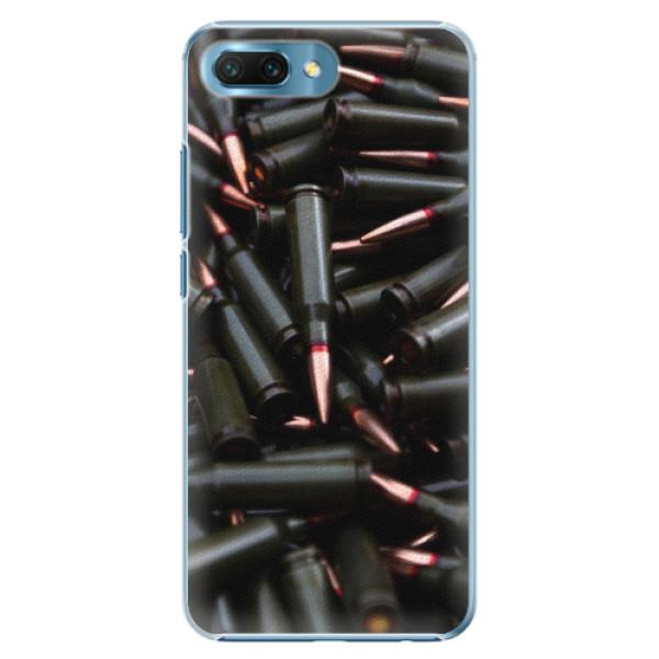 Plastové pouzdro iSaprio - Black Bullet - Huawei Honor 10