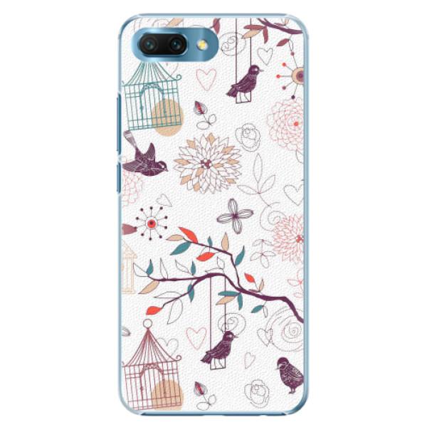Plastové pouzdro iSaprio - Birds - Huawei Honor 10