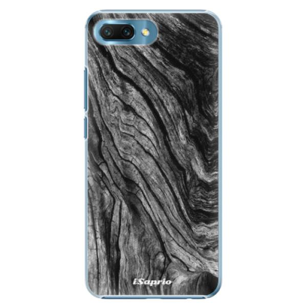 Plastové pouzdro iSaprio - Burned Wood - Huawei Honor 10