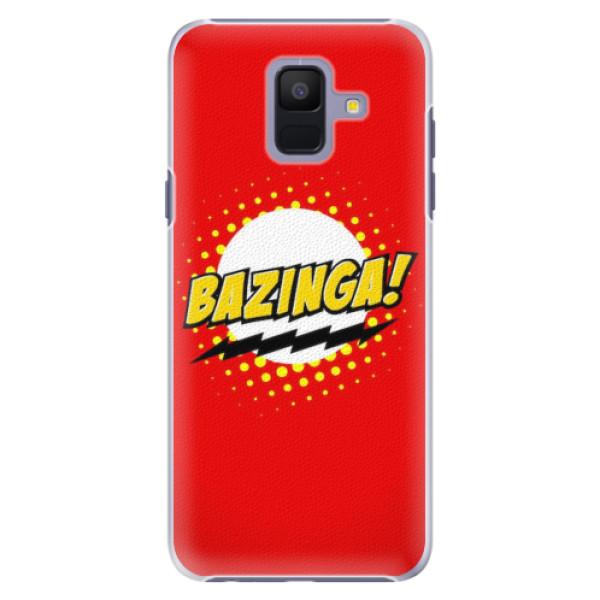 Plastové pouzdro iSaprio - Bazinga 01 - Samsung Galaxy A6