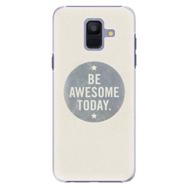 Plastové pouzdro iSaprio - Awesome 02 - Samsung Galaxy A6