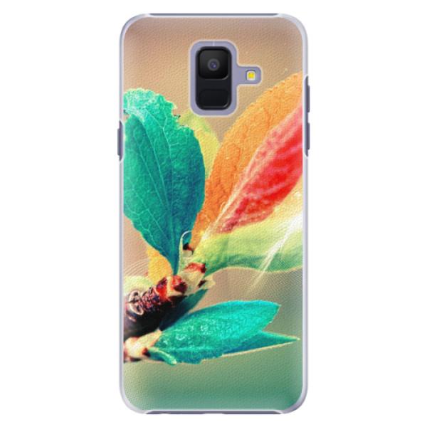 Plastové pouzdro iSaprio - Autumn 02 - Samsung Galaxy A6