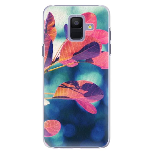 Plastové pouzdro iSaprio - Autumn 01 - Samsung Galaxy A6