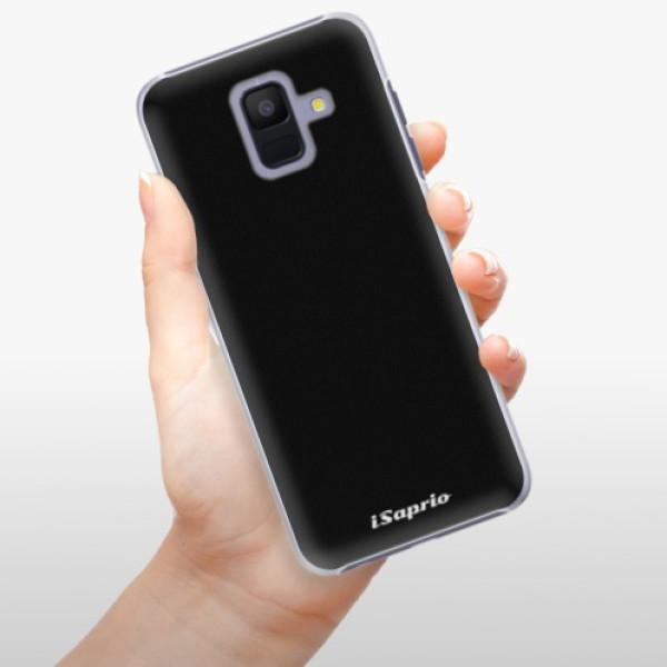 Plastové pouzdro iSaprio - 4Pure - černý - Samsung Galaxy A6