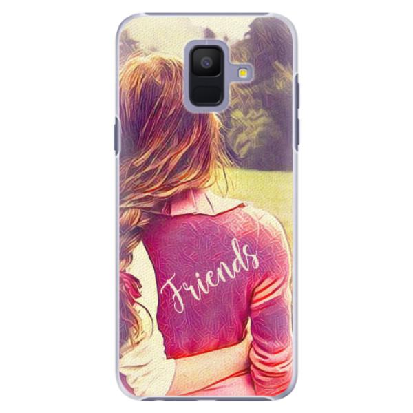 Plastové pouzdro iSaprio - BF Friends - Samsung Galaxy A6