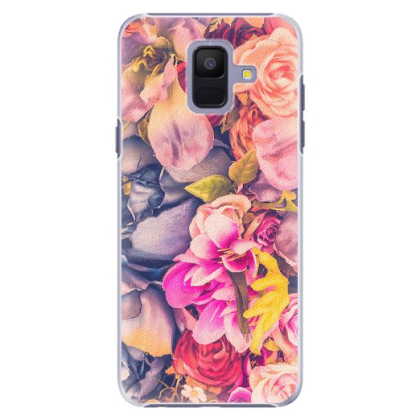 Plastové pouzdro iSaprio - Beauty Flowers - Samsung Galaxy A6