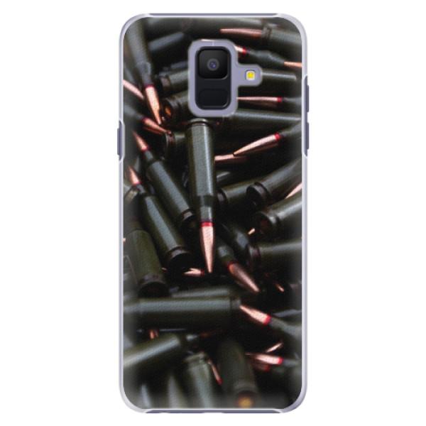 Plastové pouzdro iSaprio - Black Bullet - Samsung Galaxy A6