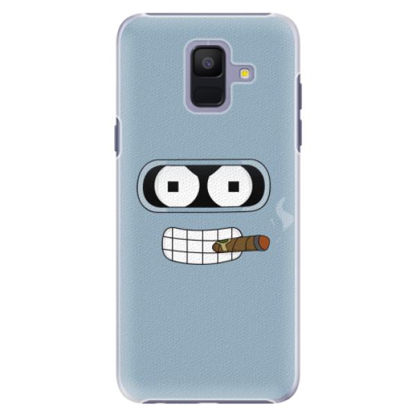 Plastové pouzdro iSaprio - Bender - Samsung Galaxy A6