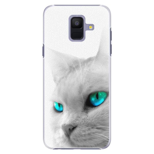 Plastové pouzdro iSaprio - Cats Eyes - Samsung Galaxy A6