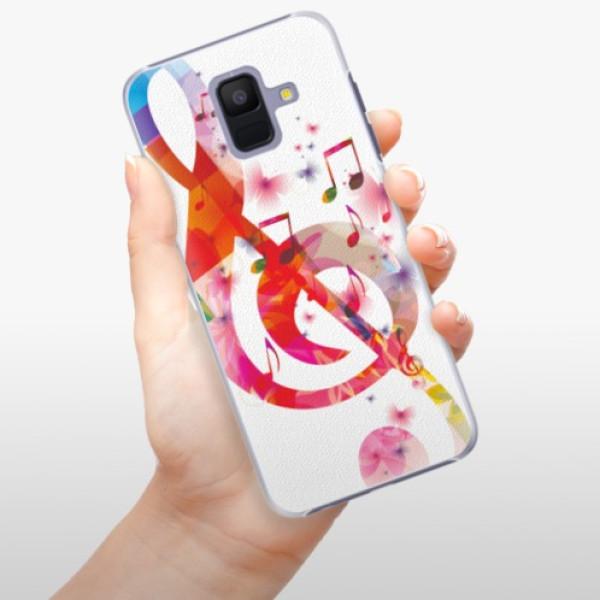 Plastové pouzdro iSaprio - Love Music - Samsung Galaxy A6