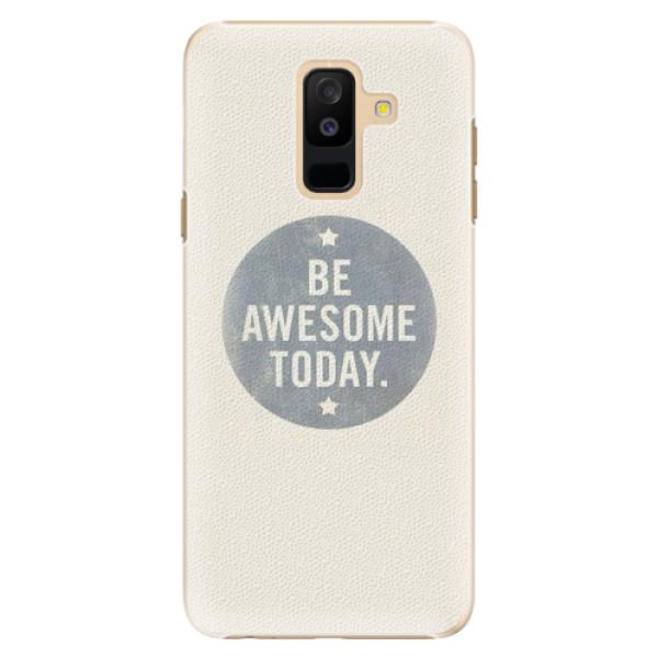 Plastové pouzdro iSaprio - Awesome 02 - Samsung Galaxy A6+