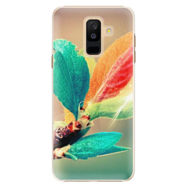 Plastové pouzdro iSaprio - Autumn 02 - Samsung Galaxy A6+