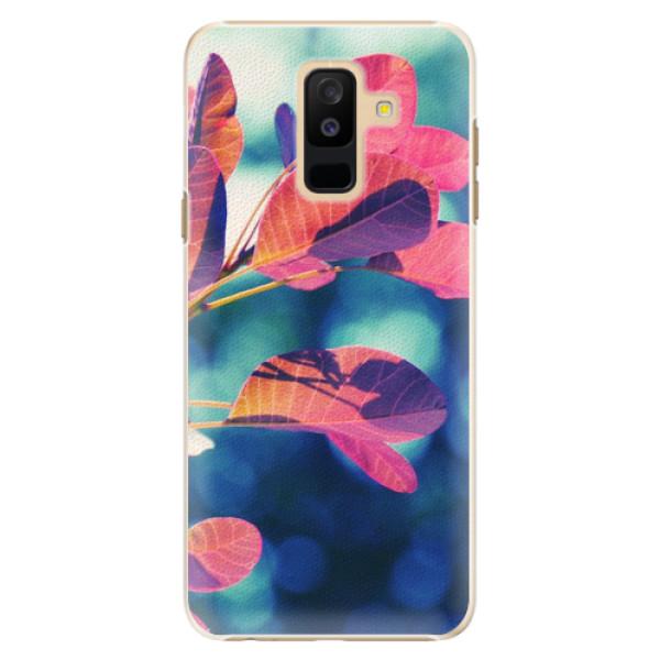 Plastové pouzdro iSaprio - Autumn 01 - Samsung Galaxy A6+