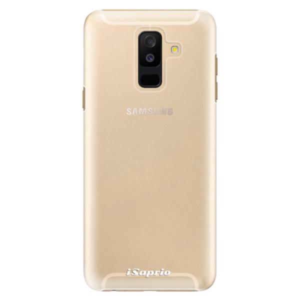 Plastové pouzdro iSaprio - 4Pure - mléčný bez potisku - Samsung Galaxy A6+