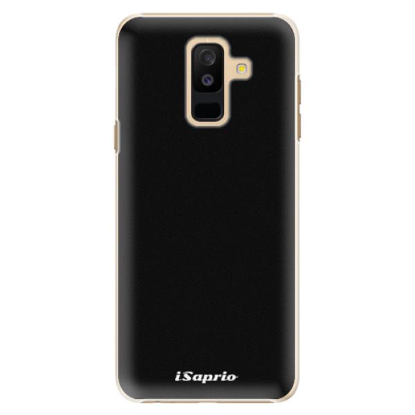 Plastové pouzdro iSaprio - 4Pure - černý - Samsung Galaxy A6+