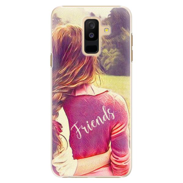 Plastové pouzdro iSaprio - BF Friends - Samsung Galaxy A6+