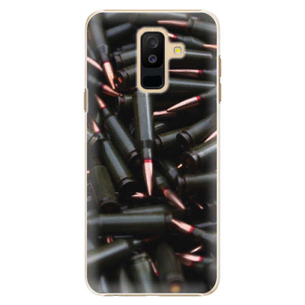 Plastové pouzdro iSaprio - Black Bullet - Samsung Galaxy A6+