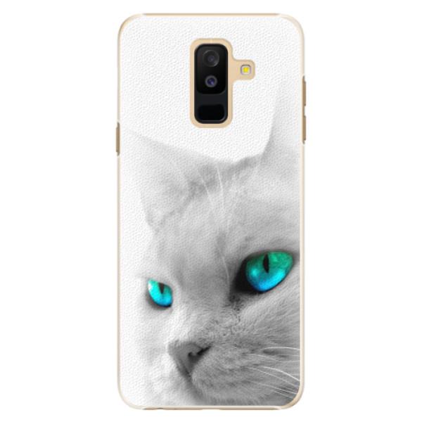 Plastové pouzdro iSaprio - Cats Eyes - Samsung Galaxy A6+