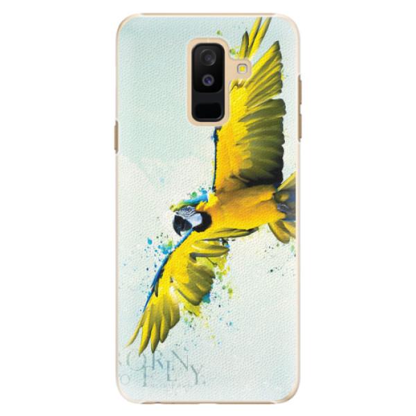 Plastové pouzdro iSaprio - Born to Fly - Samsung Galaxy A6+