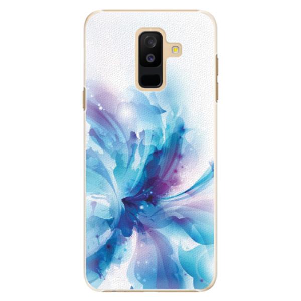 Plastové pouzdro iSaprio - Abstract Flower - Samsung Galaxy A6+