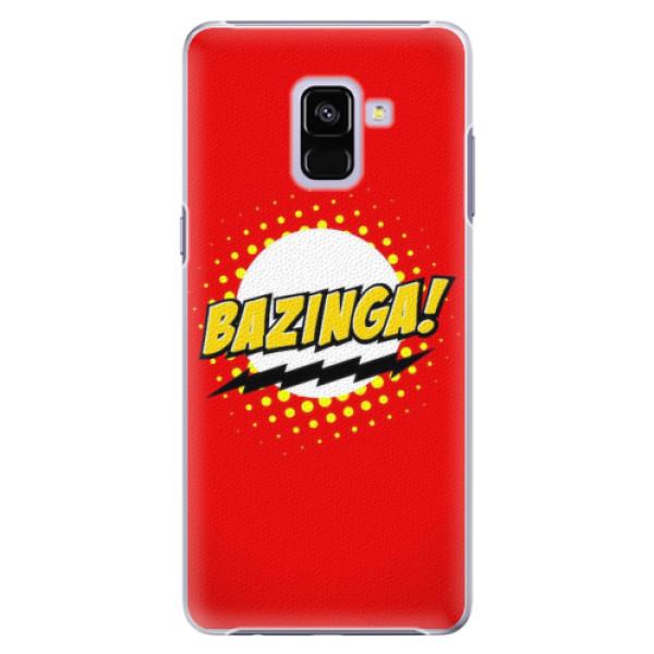 Plastové pouzdro iSaprio - Bazinga 01 - Samsung Galaxy A8+