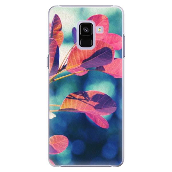 Plastové pouzdro iSaprio - Autumn 01 - Samsung Galaxy A8+