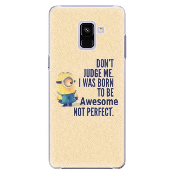 Plastové pouzdro iSaprio - Be Awesome - Samsung Galaxy A8+
