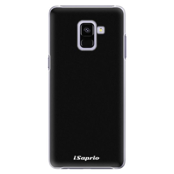 Plastové pouzdro iSaprio - 4Pure - černý - Samsung Galaxy A8+