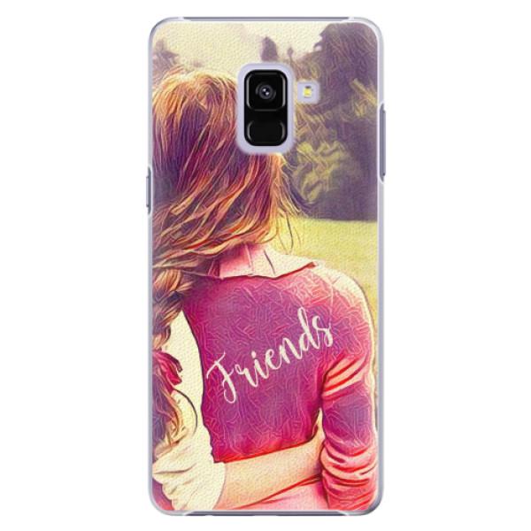 Plastové pouzdro iSaprio - BF Friends - Samsung Galaxy A8+