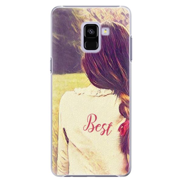 Plastové pouzdro iSaprio - BF Best - Samsung Galaxy A8+