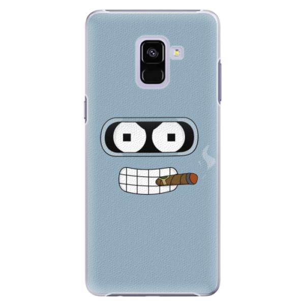 Plastové pouzdro iSaprio - Bender - Samsung Galaxy A8+
