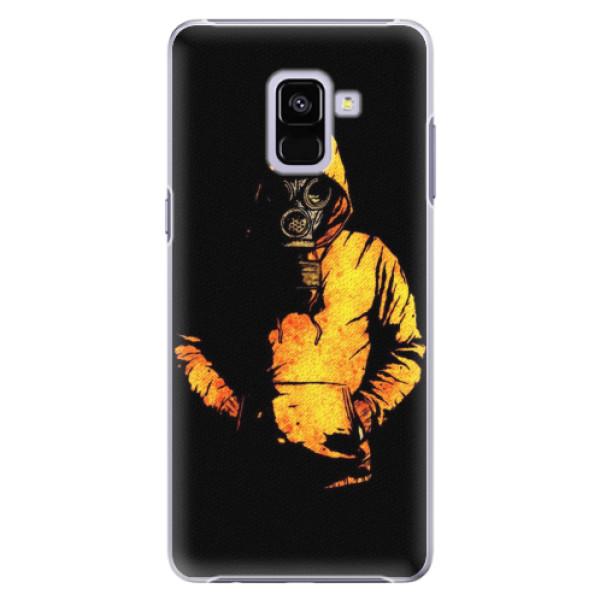 Plastové pouzdro iSaprio - Chemical - Samsung Galaxy A8+