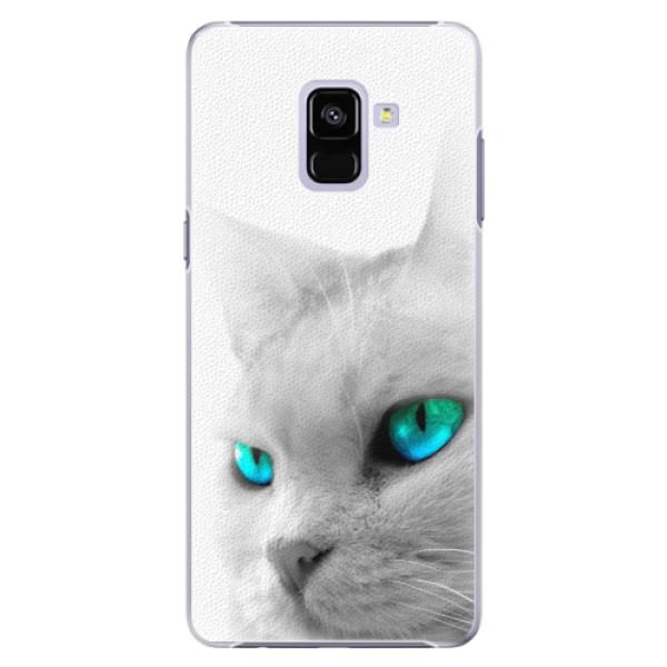 Plastové pouzdro iSaprio - Cats Eyes - Samsung Galaxy A8+