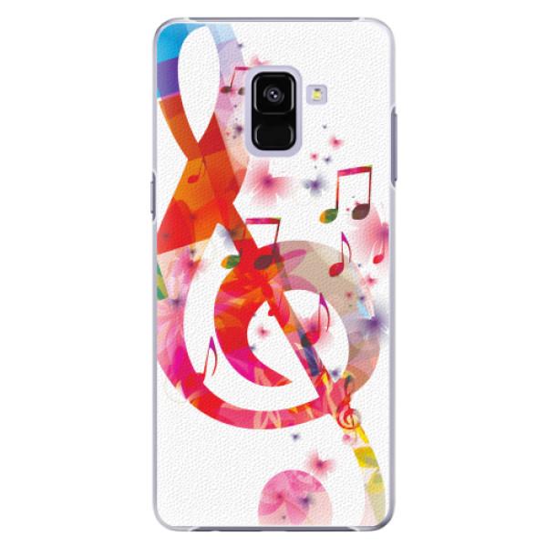 Plastové pouzdro iSaprio - Love Music - Samsung Galaxy A8+