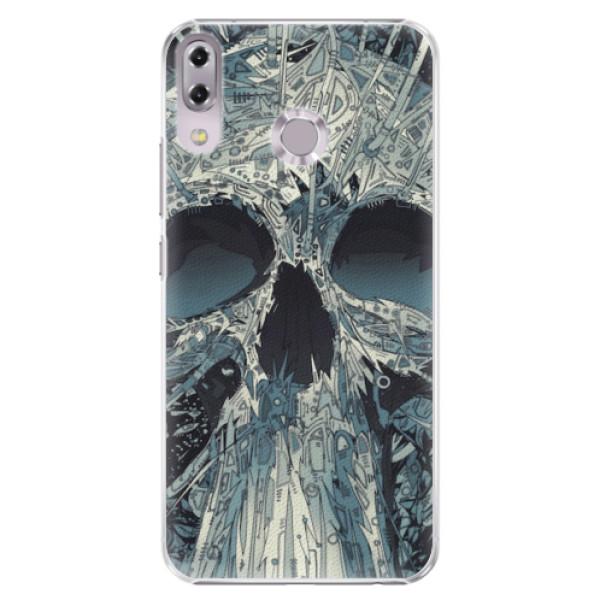 Plastové pouzdro iSaprio - Abstract Skull - Asus ZenFone 5 ZE620KL