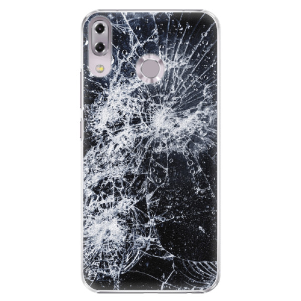 Plastové pouzdro iSaprio - Cracked - Asus ZenFone 5 ZE620KL