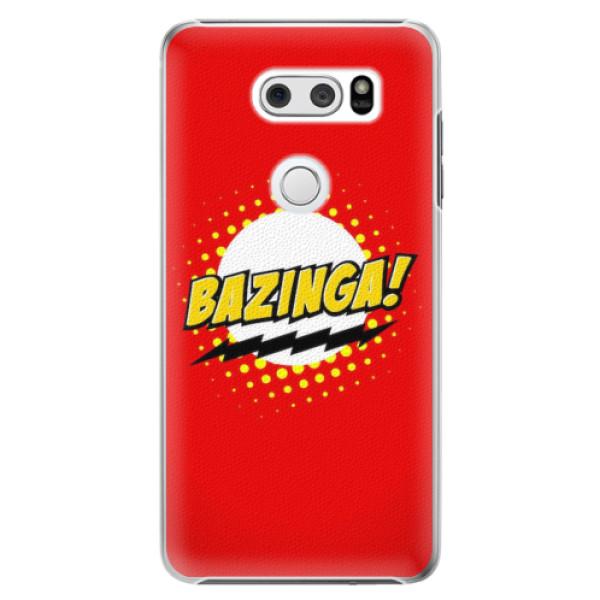 Plastové pouzdro iSaprio - Bazinga 01 - LG V30
