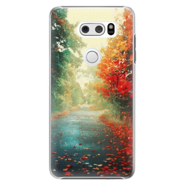 Plastové pouzdro iSaprio - Autumn 03 - LG V30