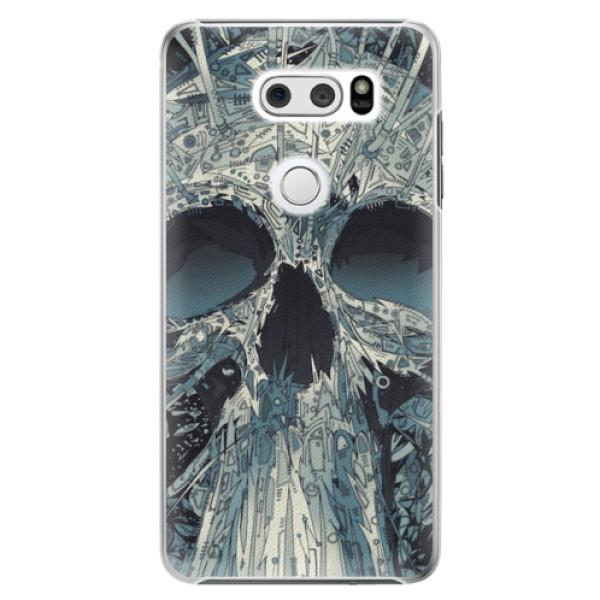 Plastové pouzdro iSaprio - Abstract Skull - LG V30