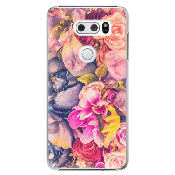 Plastové pouzdro iSaprio - Beauty Flowers - LG V30