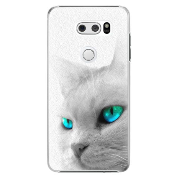 Plastové pouzdro iSaprio - Cats Eyes - LG V30