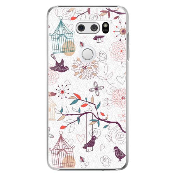 Plastové pouzdro iSaprio - Birds - LG V30